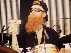 David Alderdice in sunglasses
