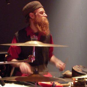 David Alderdice drumset
