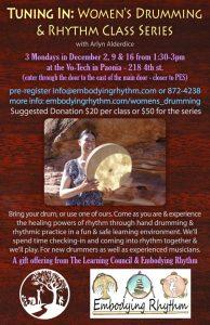 Women's Drumming Western Colorado