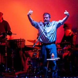Craig Childs spoken word performance with David Alderdice on drums at the Paradise Theater in Paonia, Colorado.
