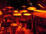 One of the many specialized drum sets that David uses in his various projects.