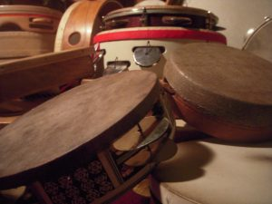 World Music Played on Frame Drums