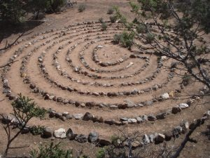 One of the Labyrinths created by Embodying Rhythm