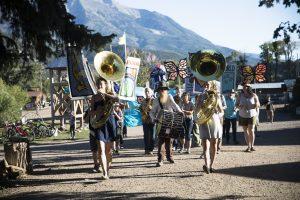 Parade Band at Sustainable Settings